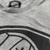 Ich liebe Fußball - T-Shirt Anthrazit
