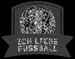 Ich liebe Fußball Logo