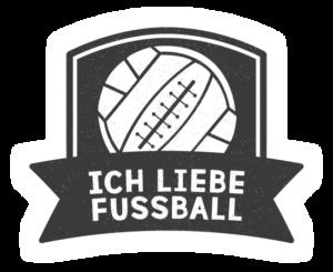 Ich liebe Fußball Logo 2