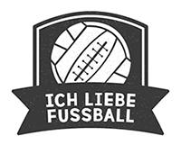 Ich liebe Fußball - Logo kl