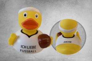 Ich liebe Fußball - Badeente Joachim