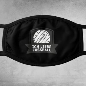 Ich liebe Fußball - Maske